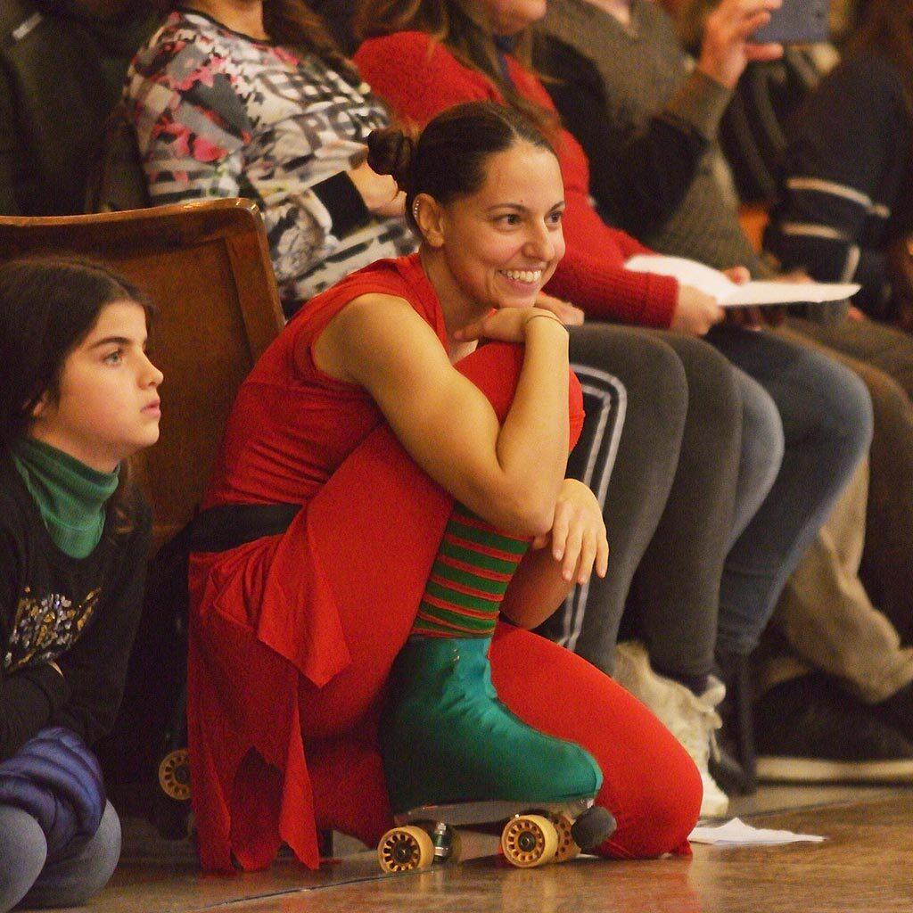 Noemi Forghieri - atleta, direttrice ed insegnante della scuola di pattinaggio artistico A.s.d. Arca Polisportiva